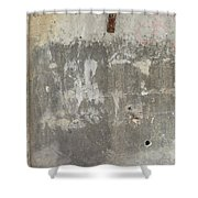 Urban Abstract Construction 3 Shower Curtain