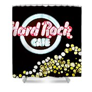 Urban Abstract Hard Rock Cafe Shower Curtain