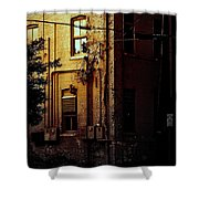 Urban Alley Shower Curtain