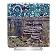 Urban Artistry Two Shower Curtain