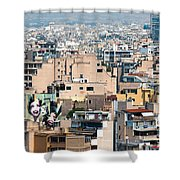 Urban Athens Shower Curtain