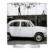 Urban Calcutta Shower Curtain