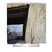 Urban Decay Train Bridge 2 Shower Curtain