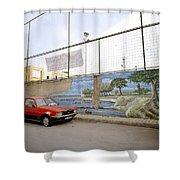Urban Dissonance Shower Curtain by Shaun Higson