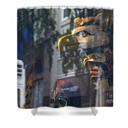Urban Indian Symbolism Shower Curtain