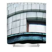 Urban Indian Symbolism Number 6 Shower Curtain