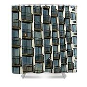 Urban Life Shower Curtain