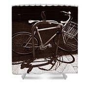 Urban Perch Shower Curtain
