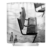 Urban Post Party Shower Curtain
