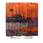 Urban Rust Shower Curtain