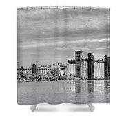 Urban Scene Shower Curtain