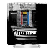 Urban Sense 1c Shower Curtain