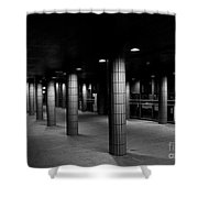 Urban Silence.. Shower Curtain