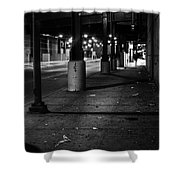 Urban Underground Shower Curtain