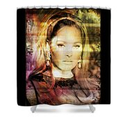 Ursula Andress Shower Curtain