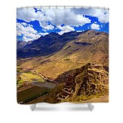Urubamba River Shower Curtain