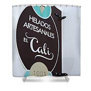 Uruguay Helados Shower Curtain