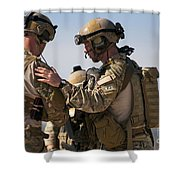 U.s. Air Force Pararescue Jumpers Shower Curtain