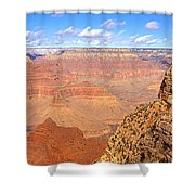 Us, Arizona, Grand Canyon, View Shower Curtain