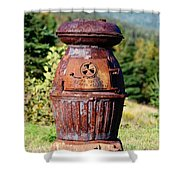 Us Army Cannon Heater No 18 Shower Curtain