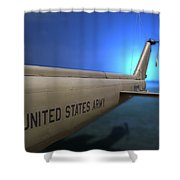 Us Army Helicopter Shower Curtain