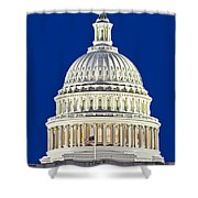 Us Capitol Dome Shower Curtain