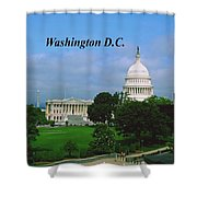 U.s. Capitol Shower Curtain