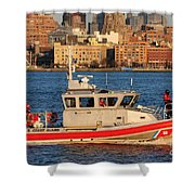 U.s. Coast Guard - Always Ready Shower Curtain