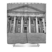 Us Customs House Shower Curtain