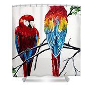 Us Friends  Shower Curtain