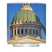 Us, Missouri, St. Louis, Courthouse Shower Curtain