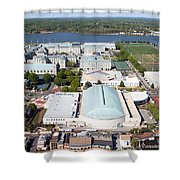 Us Naval Academy Shower Curtain