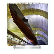 U.s. Submarine Museum 4 Shower Curtain