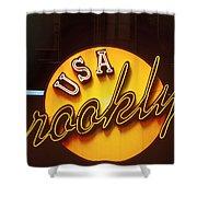 Usa Brooklyn Shower Curtain