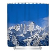 Usa, California, Mount Whitney Shower Curtain