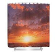 Usa, California, Pillar Point, View Shower Curtain