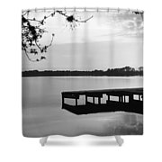 Usa, Florida, Orlando, Koa Campground Shower Curtain