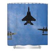 Usaf Heritage Flight Shower Curtain