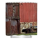 Used Car Lot Shower Curtain