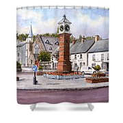 Usk In Bloom Shower Curtain