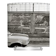 Uskudar Dreams Shower Curtain by Shaun Higson
