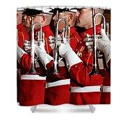 Usmc Band Shower Curtain
