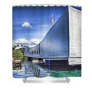 Uss Arizona Memorial- Pearl Harbor Shower Curtain