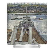 Uss Arizona Memorial-pearl Harbor V4 Shower Curtain