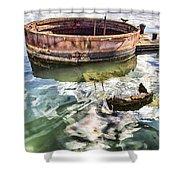 Uss Arizona Memorial- Pearl Harbor V7 Shower Curtain