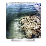 Uss Arizona Memorial- Pearl Harbor V8 Shower Curtain
