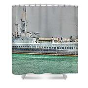 Uss Bowfin Ss-287 2 Shower Curtain