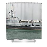 Uss Bowfin Ss-287 Shower Curtain