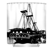 Uss Constitution 2 Shower Curtain