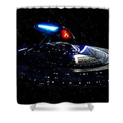 Uss Enterprise Shower Curtain